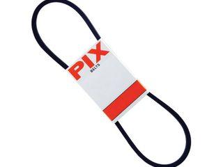PIX North America A26 28 in  FHP Rubber V Belt  Black