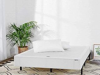 Amazon Basics Mattress Foundation   Smart Box Spring for King Size Bed  Tool Free Easy Assembly   9 Inch  King