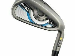 Ping GMax K1 7 PW  GW Iron Set Senior Yellow Dot 1 5 Degrees Upright Value 2 clubs