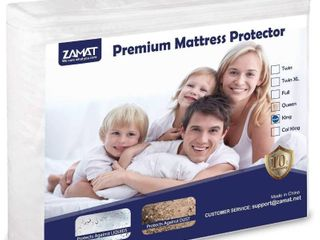 ZAMAT Premium Mattress Protector King