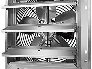 Tornado   10 Inch Heavy Duty Aluminum High Speed Shutter Exhaust Fan