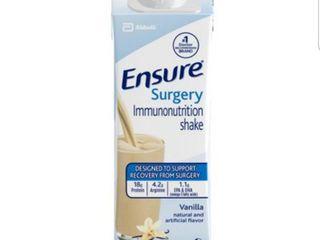 Ensure Surgery Immunonutrition Shake  Vanilla  8 fl oz  15 Count