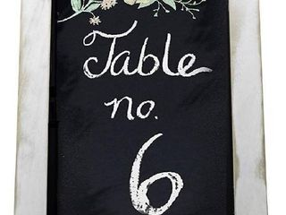 Framed Rustic Chalkboard Sign by Initium Collection
