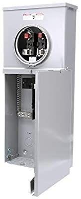 Siemens MC0816B1200T 8 Space  16 Circuit  200 Amp Main Breaker Meter