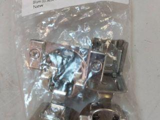 Blum 33 3630 Compact Hinge  Pack of 2  Zinc Die Cast