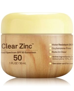 Sun Bum Clear Zinc SPF50 Sunscreen   CREAM