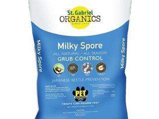 ST GABRIEl ORGANICS 80080 2 Milky Spore Grub Control Mix Pest Controller