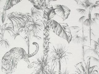Superfresco Easy Zanzibar Grey Vinyl Strippable Roll  Covers 56 sq  ft