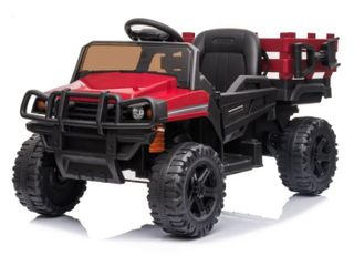 OFF Road Vehicle Electric Kids Ride On Car 12v with Remote Control  Retail 202 49  Used