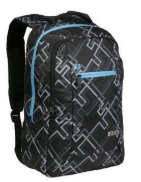 Atom Black Backpack