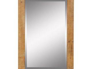 Morris Wall Mirror   Nutmeg 36 x 24 by Aspire
