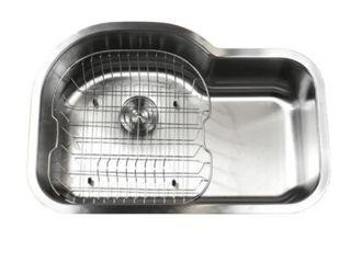 Ariel Pearl Sharp Satin 31 5in  Premium Stainless Steel Kitchen Sink  Retail   247 49