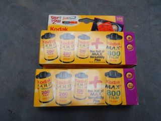 lot of Kodak Film