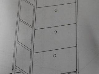 4 Drawer Storage Tower