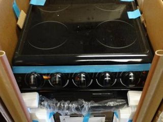 43 1Hx22 75Wx29 9D Black Electric Compact Oven