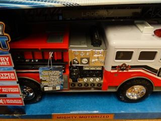 Mighty Fleet Toy Firetruck