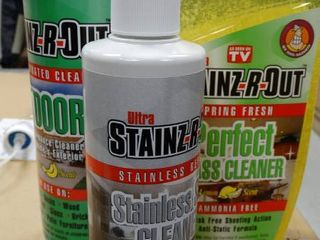 lot of Stainz R Out Cleaners