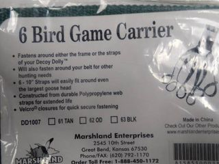6 Bird Game Carrier