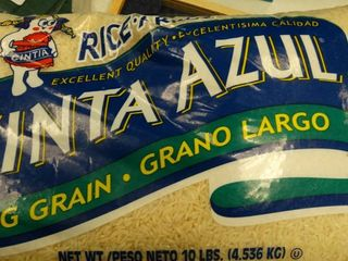 10 lb Bag of Cinta Azul long Grain Rice