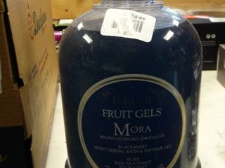 Perlier Fruit Gels Mora Blackberry Moisturizing Bath and Shower Gel