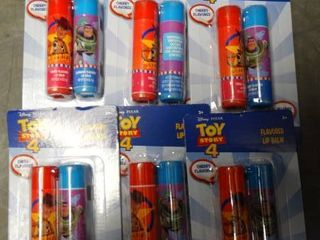 lot of Toy Story 4 Flavored lip Balm