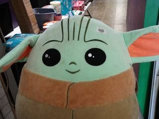 large Baby Yoda Squishmallow