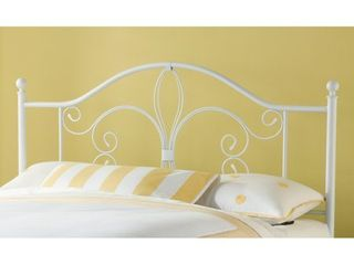 Hillsdale Furniture Ruby Full   Queen Headboard only Textured White
