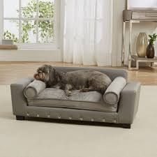 enchanted home pet grey scout sofa