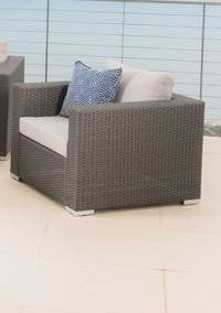 Santa Rosa Outdoor wicker chair 1only alumbrm