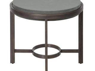 barcelona round Concrete end table Retail 409 49