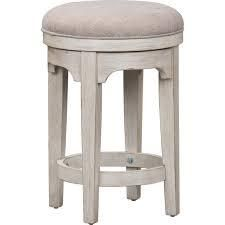 liberty furniture Antique White   Counter Height stool  23 28 in  Retail 164 49 1only