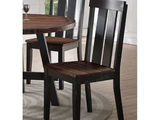 poundex Simple Relax Dining Chairs set of 2