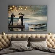 Wexford Home Twilight Romance Gallery wrapped Canvas  Retail 103 49