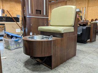 Belvedere Pedicure Chair