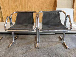 2  Salon Waiting Chairs