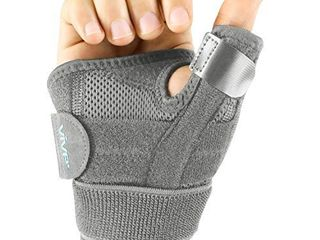 Vive Arthritis Thumb Splint   Spica Support Brace for Right and left Hand   CMC Osteoarthritis Restriction for Pain  Sprains  Strains  Carpal Tunnel   Trigger Finger   Immobilizer Wrist Strap
