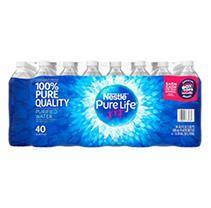 Nestle Pure life Purified Water  16 9 oz  bottles  40 pk
