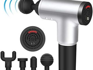 6 Speeds Massage Gun  Cordless Handheld Deep Tissue Muscle Massager  Chargeable Percussion Device Super Quiet