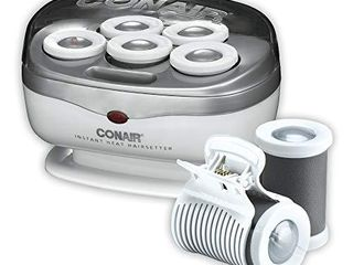 Conair Instant Heat Travel Hot Rollers  White