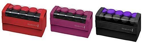 Remington H1016 Compact Ceramic Worldwide Voltage Hair Setter  Hair Rollers  1 1 1 4 Inch  Purple Black