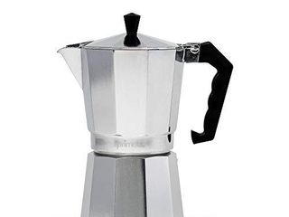 Primula Aluminum Espresso Maker   Aluminum   For Bold  Full Body Espresso Easy to Use Makes 9 Cups