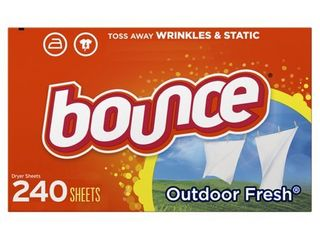 Bounce Outdoor Fresh Fabric Softener Dryer Sheets   240ct