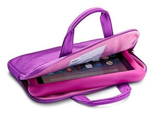 NuPro Zipper Sleeve for Fire 7 Kids Edition Tablets  Purple Pink