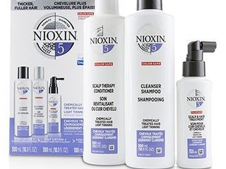 CNioxin3D Care System Kit 5   For Chemically Treated Hair  light Thinning 3pcs