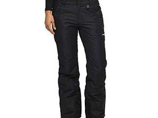 Arctix Women s Snow Sports Insulated Cargo Pants  Black  Small