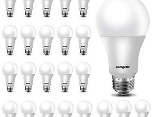 24 Pack A19 lED light Bulb  40 Watt Equivalent Warm White 3000K  E26 Standard Base  Ul listed  Non Dimmable lED light Bulb