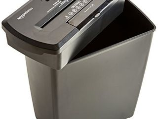 Amazon Basics 8 Sheet Strip Cut Paper  CD and Credit Card Home Office Shredder