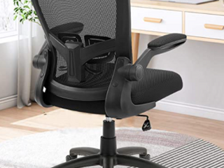 ZlHECTO ERGONOMIC OFFICE CHAIR  BlACK