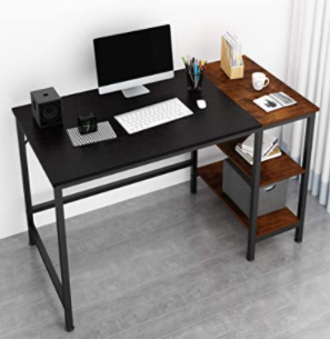 JOISCOPE 47  COMPUTER DESK  BlACK WOOD FINISH