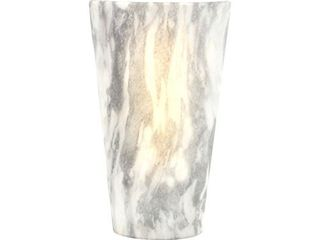 It s Exciting lighting IEl 2488G High Gloss Sconce Suitable for Indoor And Outdoor Use  Vivid Stone  Battery Powered With Timer  lightweight And Mobile